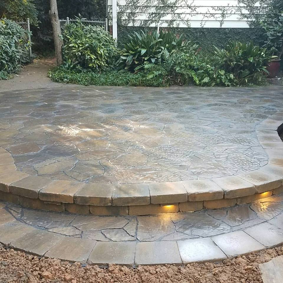 Carolina Greenscapes patio