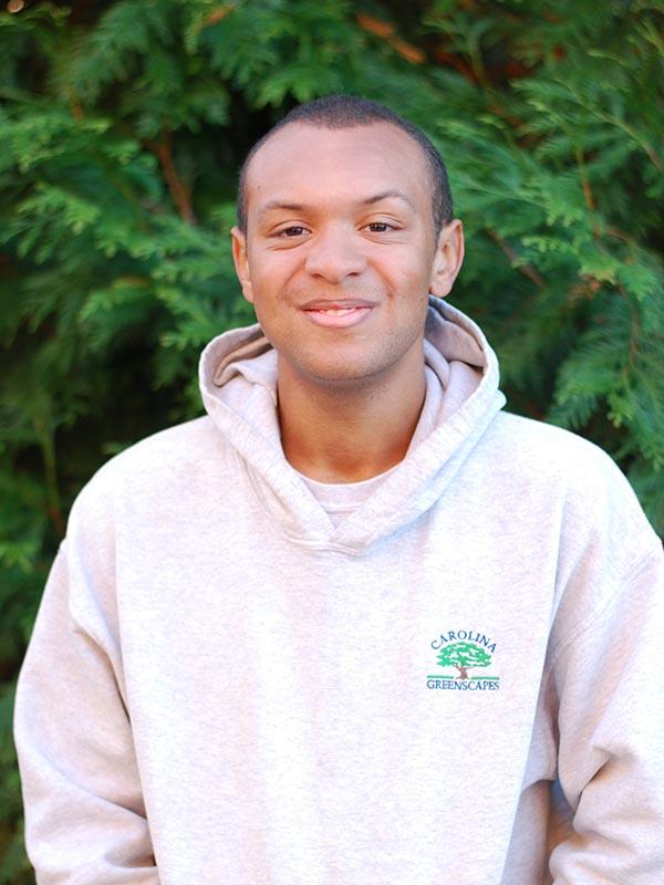 Darius, Project Technician at Carolina Greenscapes