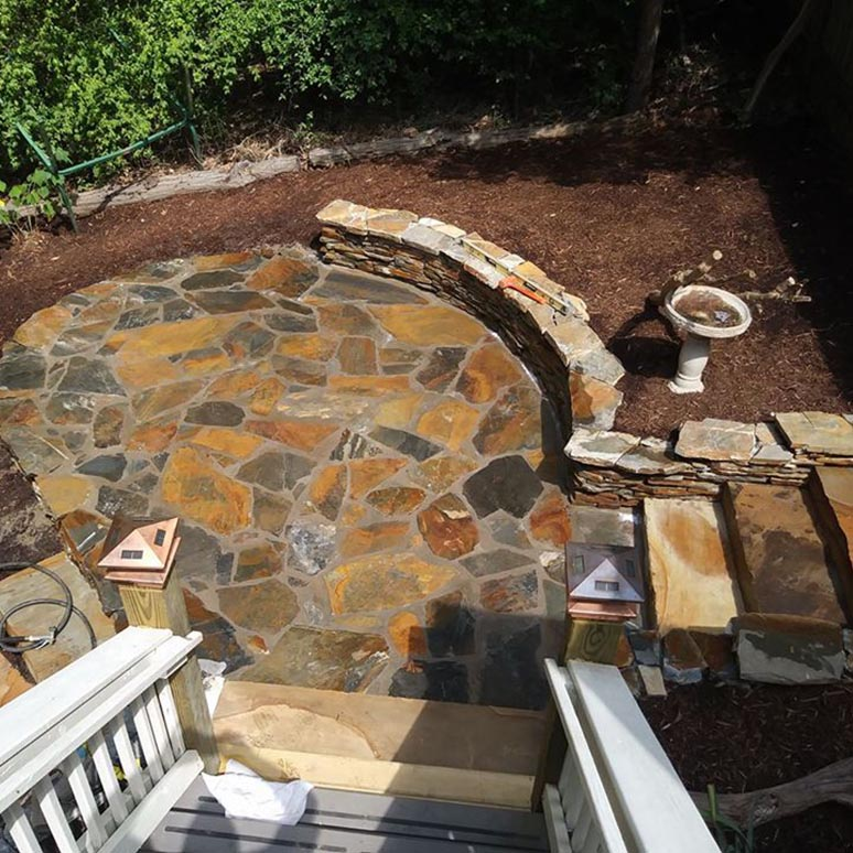 Carolina Greenscapes Patio